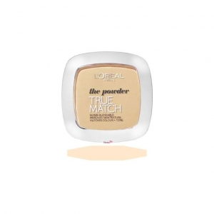 LOREAL TRUE MATCH PUDER ADAPTACYJNY D1/W1 GOLDEN IVORY 9G